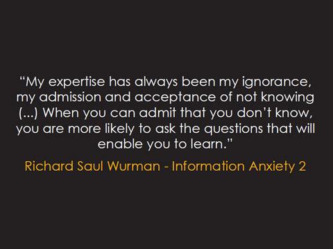 Frase Richard Saul Wurman